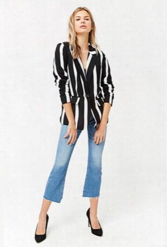 Contrast Stripe Blazer