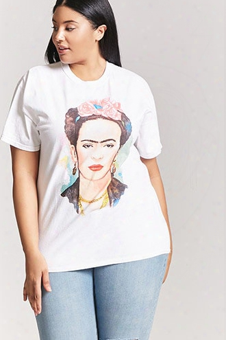 Plus Size Frida Kahlo Graphic Tee