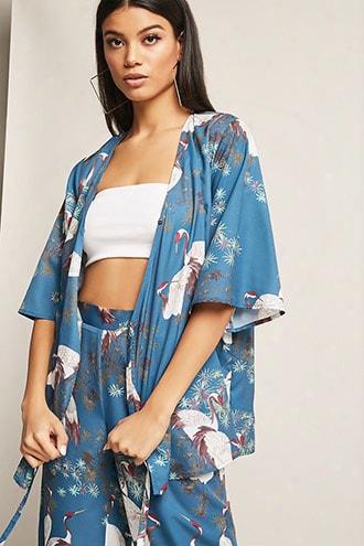 Rd & Koko Floral Print Wrap Ttop