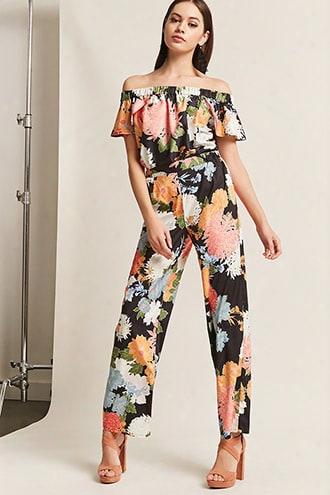 Rd & Koko Floral Woven Pants