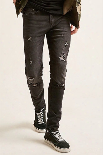 Waimea Distressed Skinny Jeans