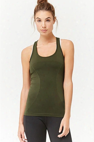 Active Seamless Racerback Tank Top