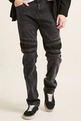 Cain & Abel Denim Mesh-panel Jeans
