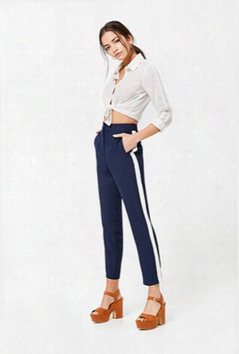 Contrast Side-stripe Pant
