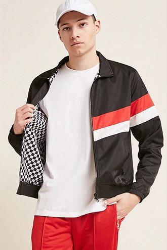 Contrast Stripe Jacket