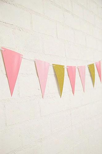 Glitter Happy Birthday Banner & Sticker Pack