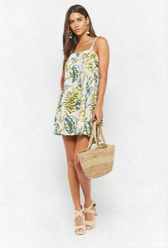 I The Wild Tropical Print Dress