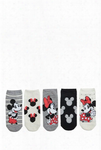 Minnie & Mickey Mouse Ankle Socks
