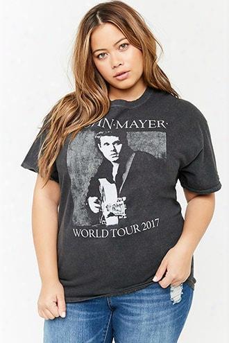 Plus Size John Mayer Graphic Tee