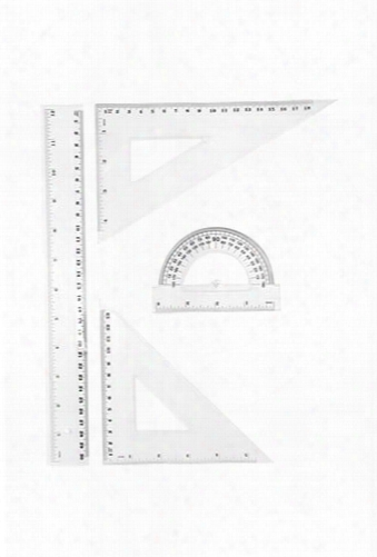 Protractor & Measurement Tools Set