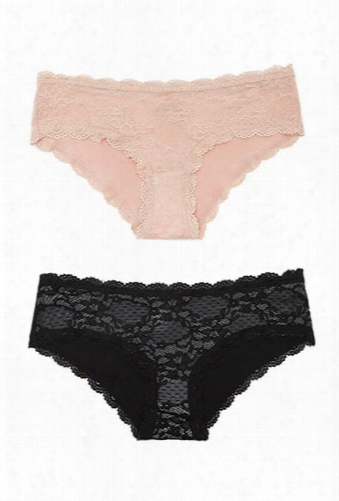Scalloped Lace Panty Set