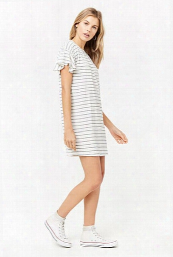 Slub Knit Shift Dress