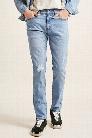 Distressed-Knee Skinny Jeans