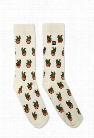 Men Richer Poorer Cacti Print Crew Socks