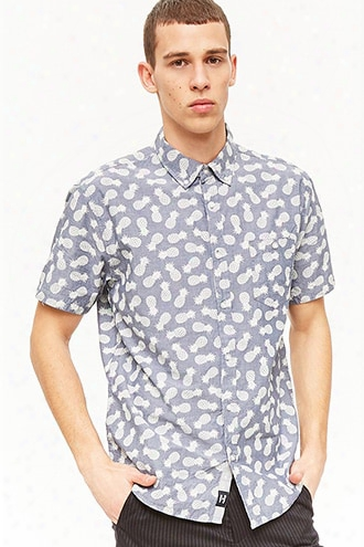Artistry In Motion Pineapple Print Shirt