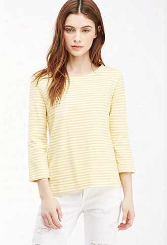 Breton Stripe Boat Neck Top