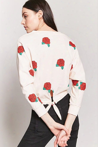 Floral Print Dolman Top