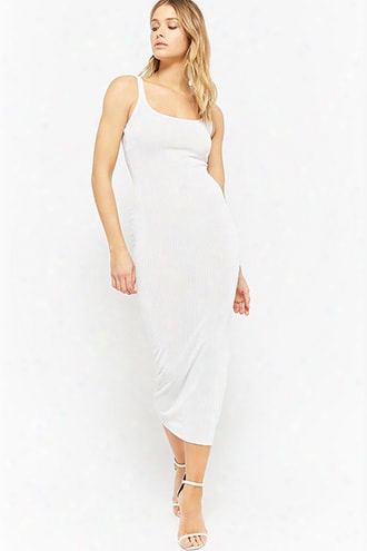 Ribbed Bodycon Maxi Dress