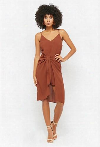 Selfie Leslie Tie-front Cami Dress