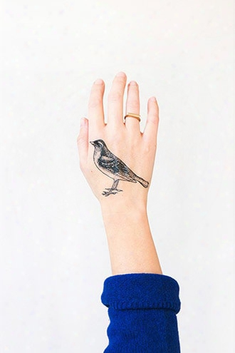 Tattly Bird Temporary Tattoos