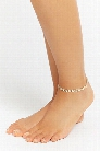 Laurel Leaf Anklet