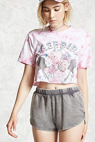 Faded French Terry Shorts