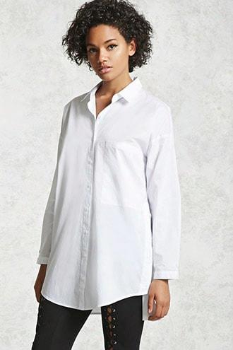 Oversized Button-up Shirt