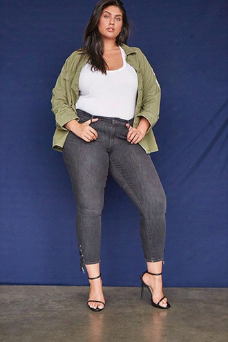 Plus Size Levis 711 Ankle Skinny