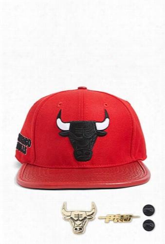 Pro Standard Chicago Bulls Leather-brim Hat
