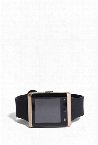 Rose-tone Itouch Pulse Smart Watch