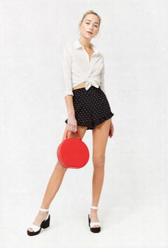 Ruffled Polka Dot Shorts