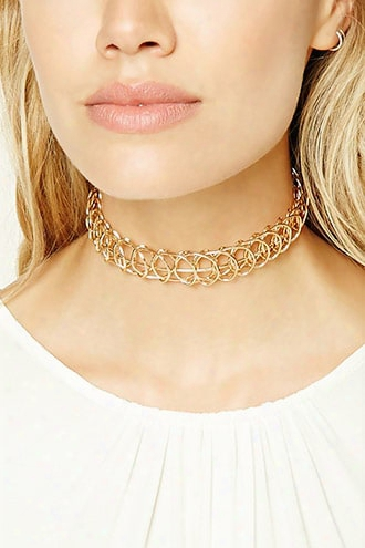 Structured Tattoo Choker