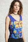 Iron Man Graphic Tank Top