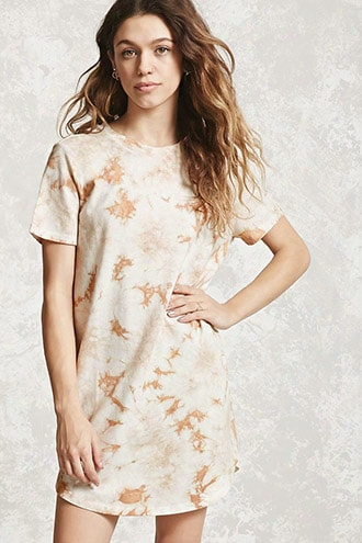 Crystal Dye T-shirt Dress