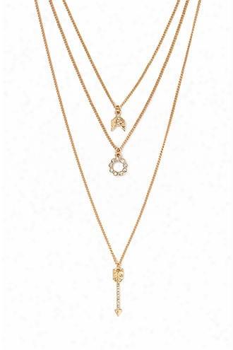 Curb Chain Necklace Set