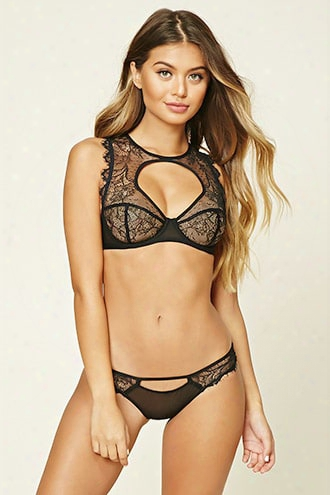 Eyelash Lace Cheeky Panty
