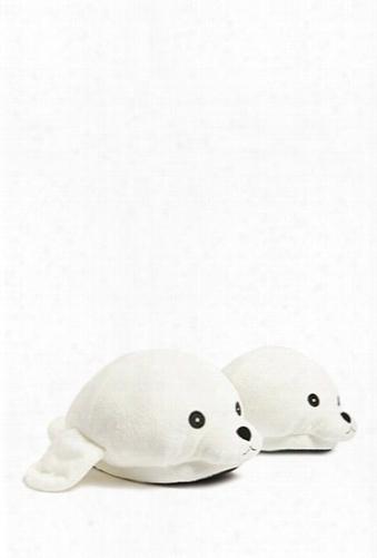 Fleece Seal Slippers