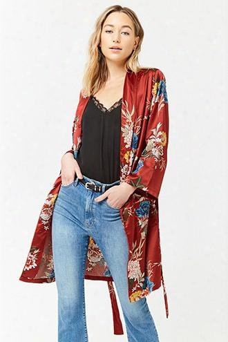 Floral Satin Jacket