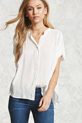 Gauze Dolman Shirt