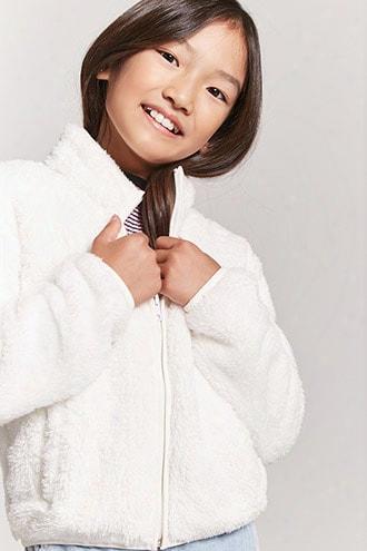 Girls Faux Fur Jacket (kids)