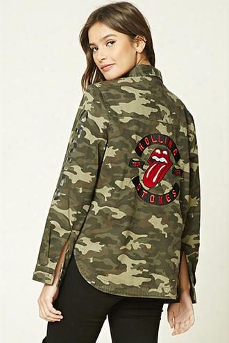Rolling Stones Camo Jacket