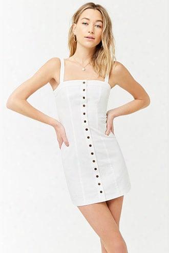 Seamed Mini Dress