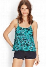 Printed Ladder-Side Cami