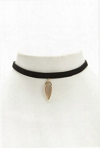 Arrow Pendant Choker