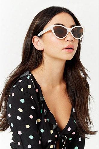 Cateye Plastic Sunglasses