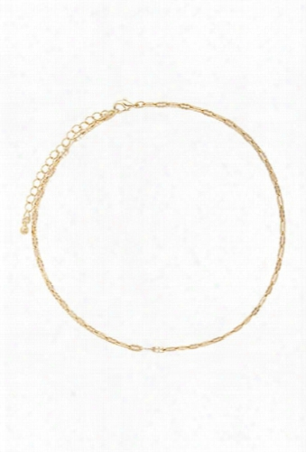 Etched Cable Chain Necklace