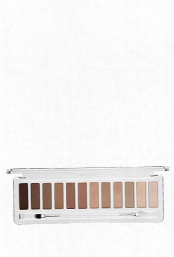 Lottie London Shadow Swatch 12-piece Eyeshadow Palette - The Nudes