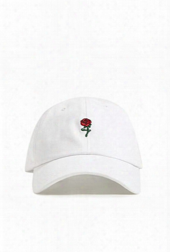 Men Rose Graphic Dad Cap