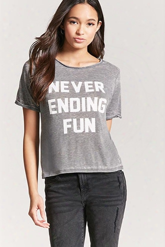 Never Ending Fun Graphic Tee