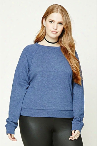 Plus Size Raglan Sweatshirt